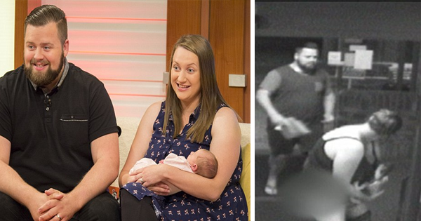 She Gives Birth To Her Daughter At The Entrance Of A Hospital As Her Husband Finds Parking