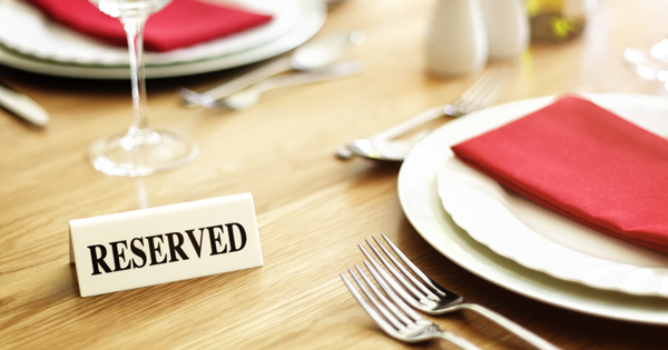 Restaurant Is Seen Reserving Tables For Specific Guests. When Patrons Finally Realize What's Happening, They're Speechless.