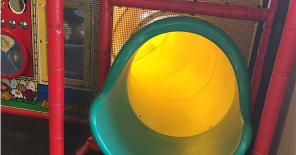 Mom Of Special Needs Child Can't Get Her Kid Down From The Slide. Then Another Parent Says Something That Makes Her Cry